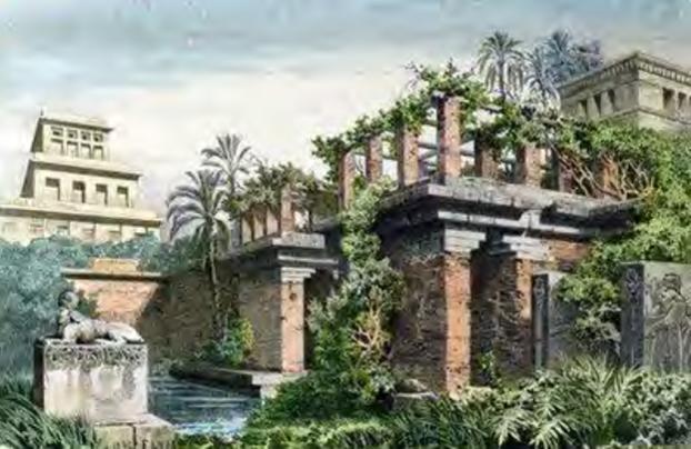 بام سبز در بابل قدیم