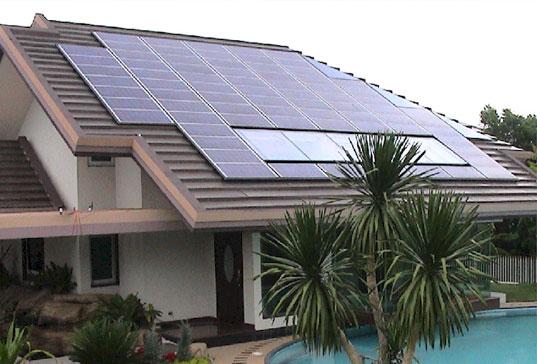 تاثیر انرژی خورشیدی بر ساختمان
