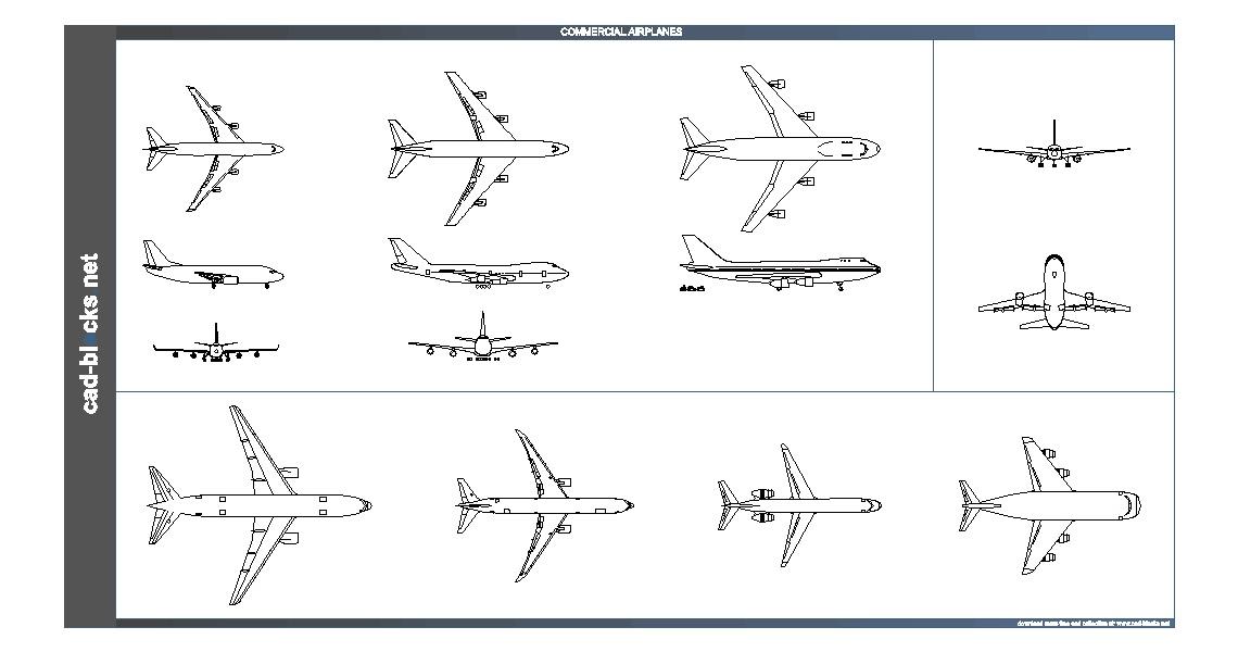 دانلود نقشه هواپیما