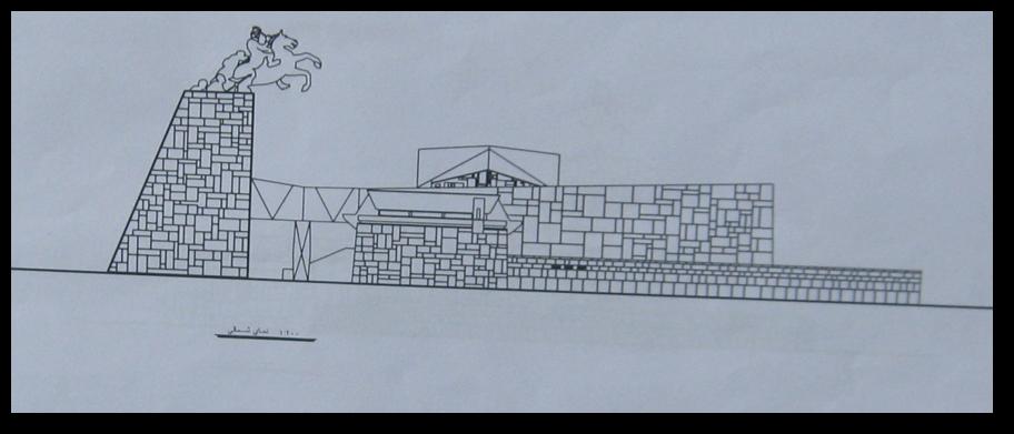 نقشه آرامگاه نادرشاه افشار