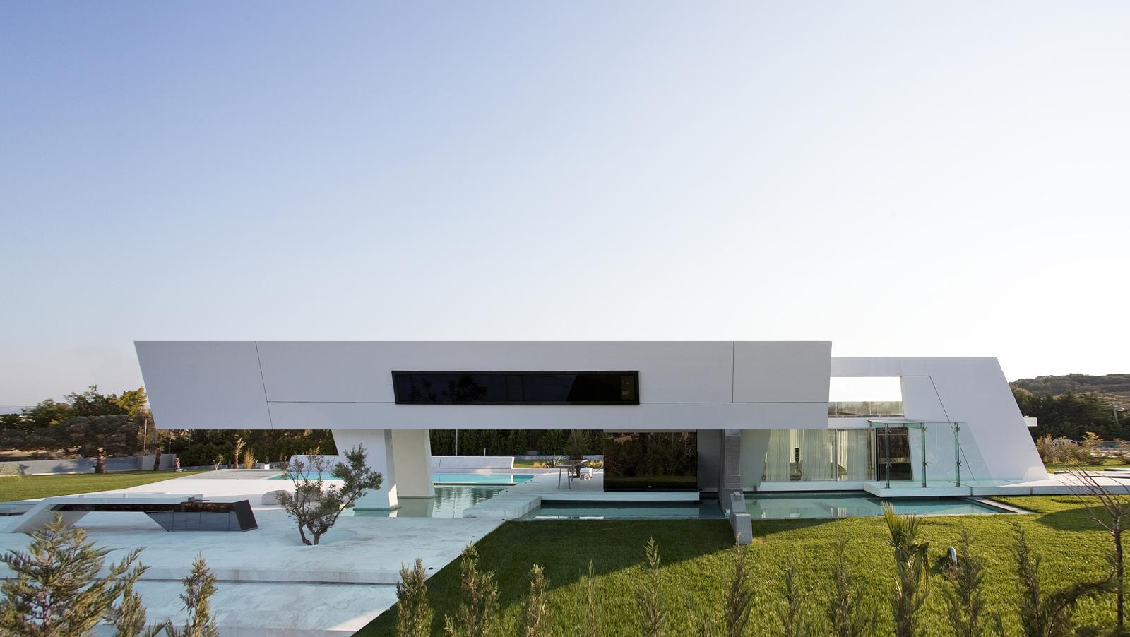 خانه فوق العاده مدرن در آتن