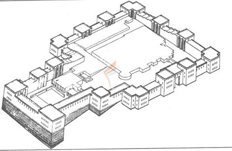 معماری تل تخت