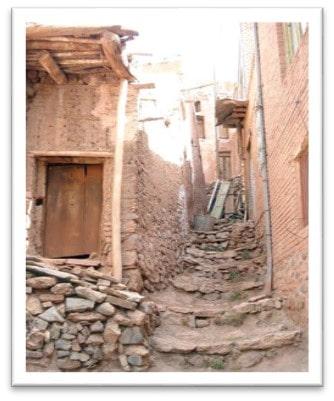 بافت روستای ابیانه