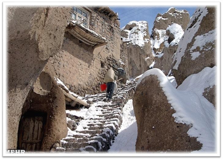 بررسی روستای کندوان