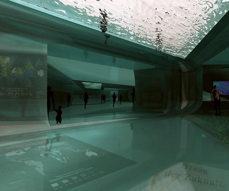 آب در معماری