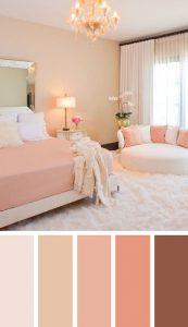 عکس اتاق خواب رنگ صورتی