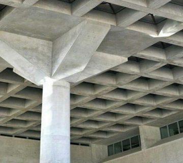سیستم سقف دال بتنی