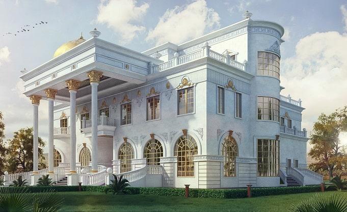 کاخ ویلایی