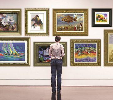 رساله نمایشگاه نقاشی