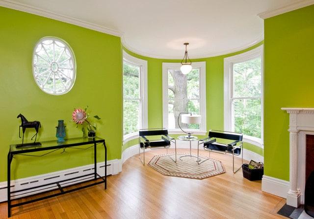رنگ سبز در نقاشی