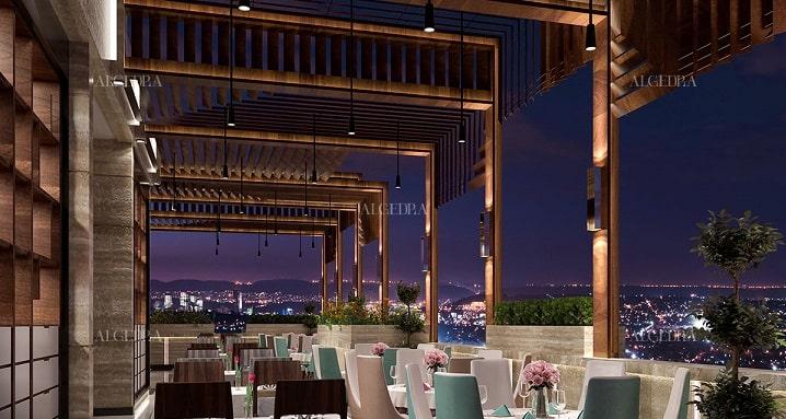 نحوه طراحی فضای داخلی رستوران